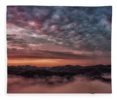 Sunrise Over The Breaks Fleece Blanket