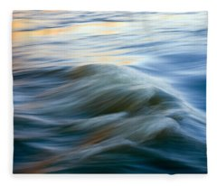 Yakima River Photographs Fleece Blankets