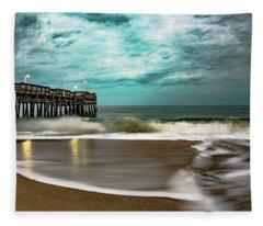 Sunrise Sandbridge Virginia Fleece Blanket
