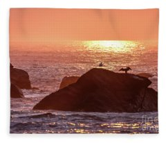 Sunrise, South Shore Fleece Blanket