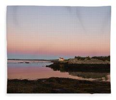 Sunrise Spillover Fleece Blanket
