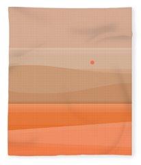 Sunrise Therapy Fleece Blanket