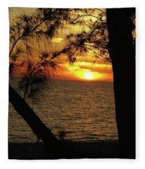 Sunset 1 Fleece Blanket