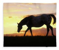 Sunset Appy Fleece Blanket