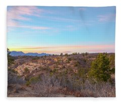 Sunset At Palmer Park Fleece Blanket