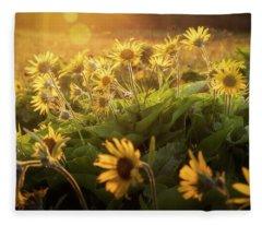 Sunset Balsam Fleece Blanket