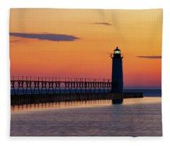 Sunset Beauty Fleece Blanket