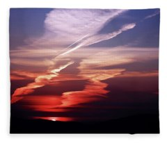 Sunset Dance Fleece Blanket