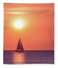 Sunset Dreams Fleece Blanket