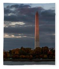 Sunset Glow Fleece Blanket