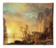 Hudson River Fleece Blankets