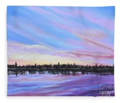 Sunset-ivanhoe2 Fleece Blanket