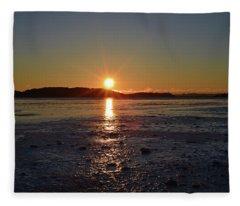Sunset Fleece Blanket