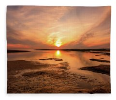 Sunset On The Cape Fleece Blanket