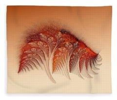 Sunset On Yessland Fleece Blanket