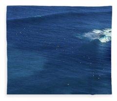 Sunset Point Line-up Fleece Blanket