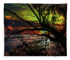 Sunset Series 9518 Fleece Blanket