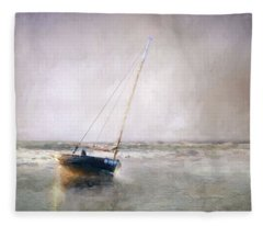 Sunset Tide Fleece Blanket
