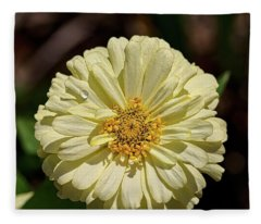 Sunshine Yellow Fleece Blanket
