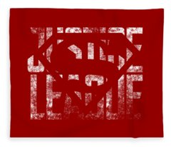Superman Symbol Fleece Blanket