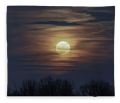 Supermoon Fleece Blanket