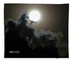 Supermoon Fleece Blanket