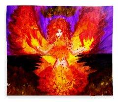 Supreme Seraphim  Fleece Blanket