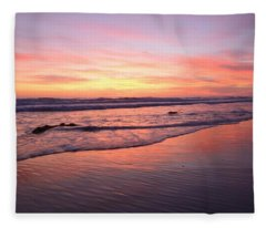 Surfer Afterglow Fleece Blanket