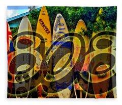 Surfin' 808 Fleece Blanket