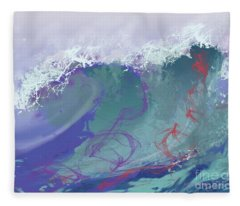 Surf's Up Fleece Blanket