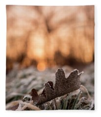 Surprises In Nature Fleece Blanket