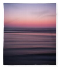 Surreal Beach II Fleece Blanket