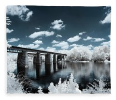 Surreal Crossing Fleece Blanket