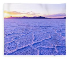 Surreal Salt Fleece Blanket