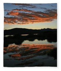 Surreal Sunrise Fleece Blanket