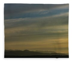 Surreal Sunset Fleece Blanket