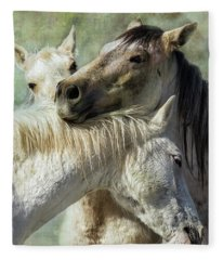 Surrounded By Love Fleece Blanket