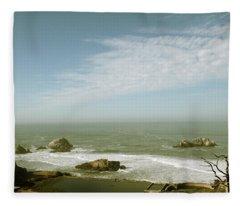 Sutro Baths San Francisco Fleece Blanket