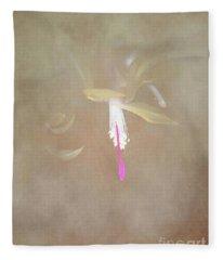 Swaddled Blossom Fleece Blanket