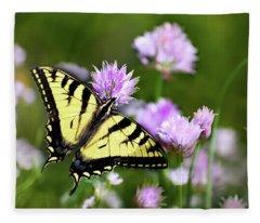 Swallowtail Butterfly Dream Fleece Blanket