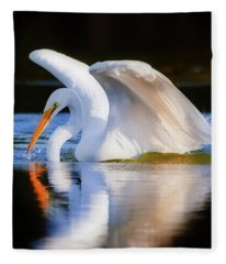 Swanlike Fleece Blanket
