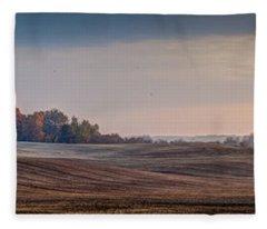 Sweeping Farm Fleece Blanket