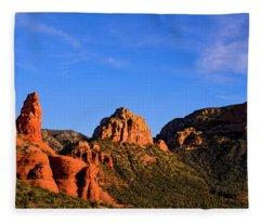 Sweeping Sedona Fleece Blanket