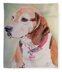 Sweet Annie Fleece Blanket