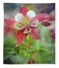 Sweet Columbine 9281 Idp_2 Fleece Blanket