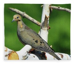 Sweet Dove Fleece Blanket