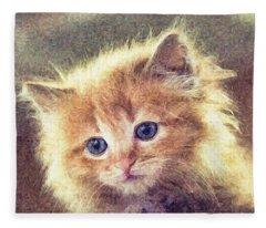 Sweet Ginger Fuzz Fleece Blanket