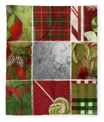 Sweet Holiday IIi Fleece Blanket