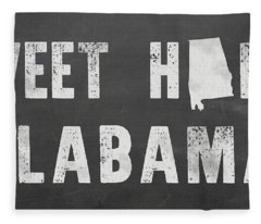 Sweet Home Alabama Fleece Blanket