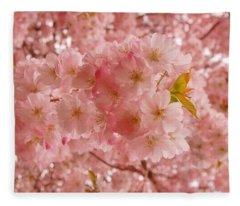 Sweet Pink- Holmdel Park Fleece Blanket